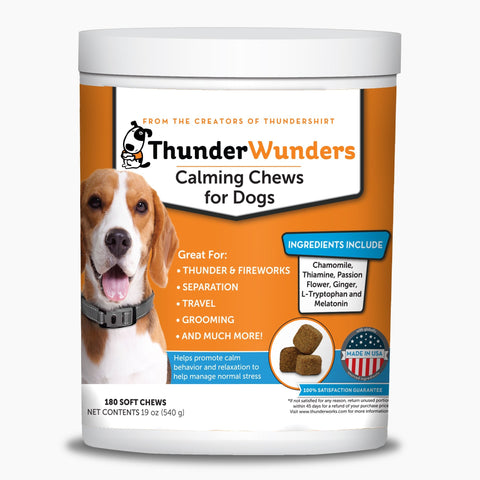 Thunder Wunders Hemp Calming Chews For Dogs