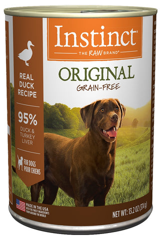 Nature's Variety Instinct Grain-Free Duck Formula Canned Dog Food