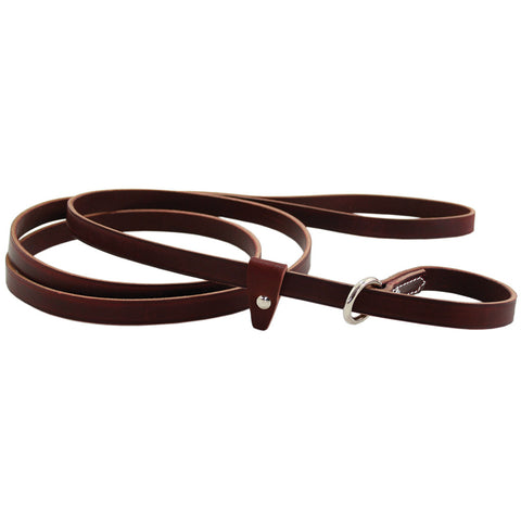 Auburn Slip Leash - Leather