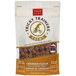 Cloud Star Chewy Tricky Trainers Cheddar Dog Treats