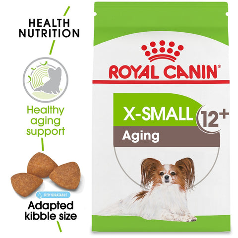 Royal Canin Size Health Nutrition X-Small Aging 12+ Dry Dog Food