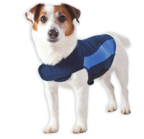 Thundershirt Blue Polo for Dogs