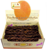 Canine Caviar Braided 6-Inch Buffalo Bully Sticks