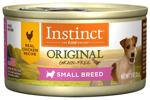 Nature's Variety Instinct Small Breed Grain-Free Chicken Formula Canned Dog Food