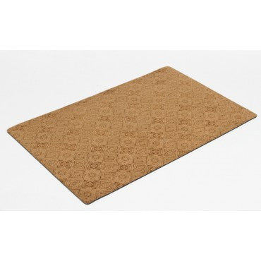 Floor Carpet Runner - Pecan Filligree Microvelvet