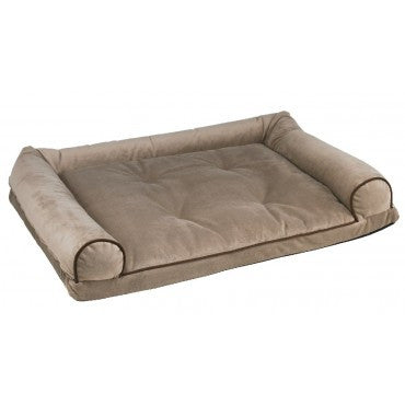 Bowsers Home And Travel Bed - Taupe Microvelvet