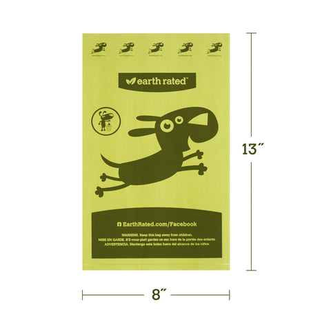 Earth Rated<sup>®</sup> Dog Waste Bags, Value Pack - Lavender Scented