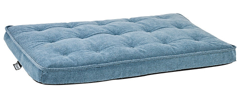 Bowsers Luxury Crate Mattress Blue Stone Microvelvet