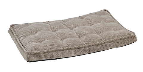 Bowsers Luxury Crate Mattress Cappacino Treats Microvelvet