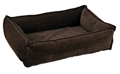 Urban Lounger - Chocolate Bones Microvelvet