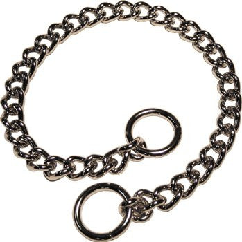 Herm Sprenger Heavy Chain Collar - Chrome Plated