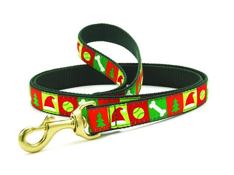 Christmas List Dog Collar & Leash