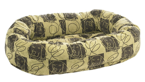 Donut Bed Dog Days Microvelvet