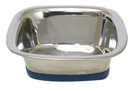 Durapet Square Stainless Steel Bowl