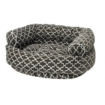 Double Donut Graphite Lattice  Microvelvet
