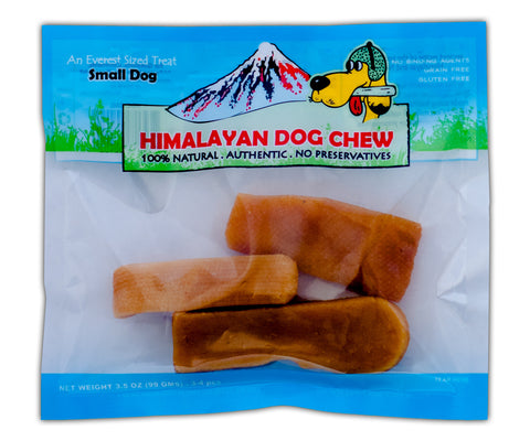 Himalayan Dog Chew - Small Dogs Under 15 lbs