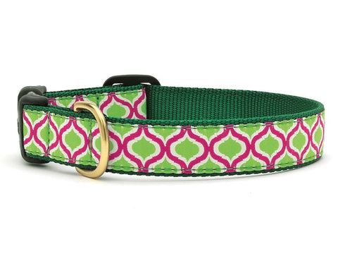 Green Kismet Dog Collar