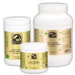 Solid Gold Multi-Vitamin/Mineral Supplement