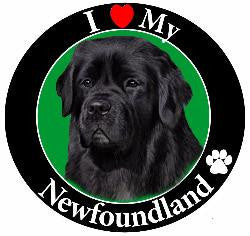 Newfoundland Decal Magnet