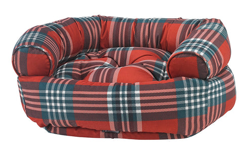 Double Donut Royal Troon Tartan Microvelvet