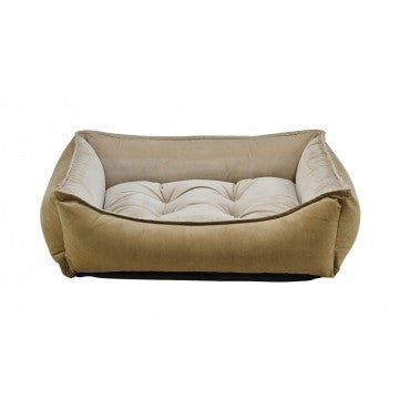 Scoop Bed - Toffee Microvelvet