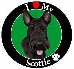 Scottie Decal magnet