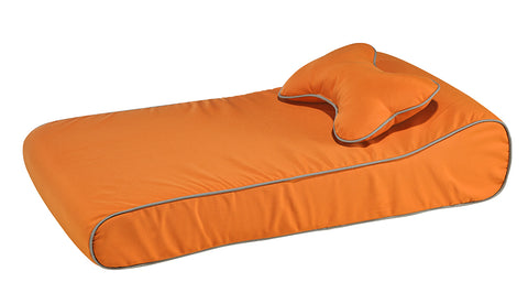 Bowsers Contour Memory Foam Lounger - Sunset