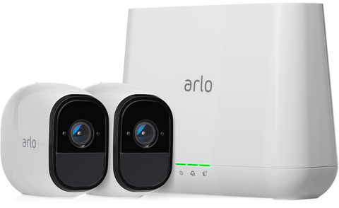 Arlo Pro Wireless Security System with 2 Cameras - Indoor/Outdoor