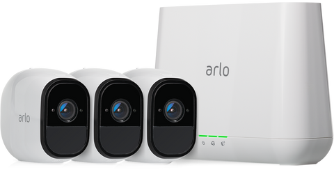 Arlo Pro Wireless Security System with 3 Cameras - Indoor/Outdoor