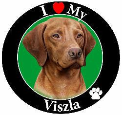 Viszla Decal Magnet