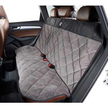 Bowsers Cross Country Back Seat Protector Microvelvet