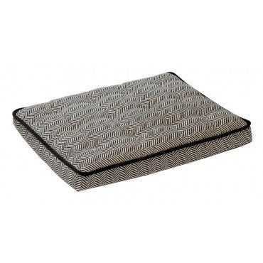 Bowsers Luxury Crate Mattress - Herringbone Microvelvet