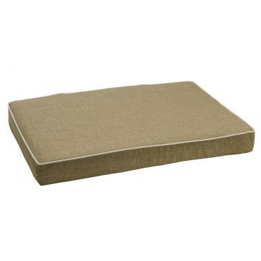 Bowsers Isotonic Memory Foam Mattress Flax Microlinen (Coconut piping)