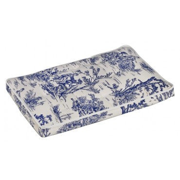 Bowsers Luxury Crate Mattress  Wedgewood Toile Microvelvet