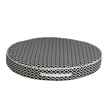 Circular Patio Cushion Trellis Outdoor Fabric