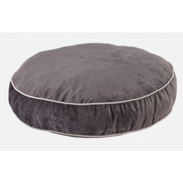 Super Soft Round -Charcoal Microvelvet
