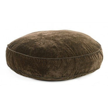 Super Soft Round - Chocolate  Bones Microvelvet