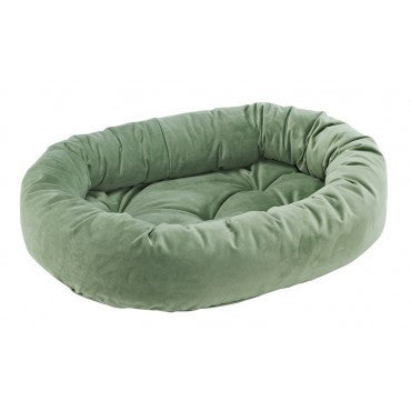 Donut Bed Grass Microvelvet
