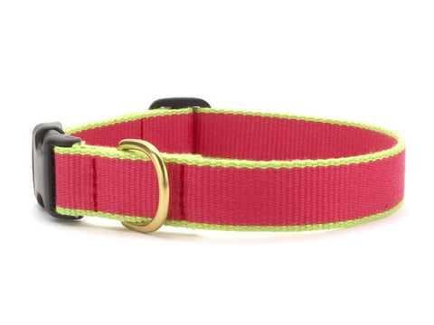 Green Market Pink and Lime Dog Collar