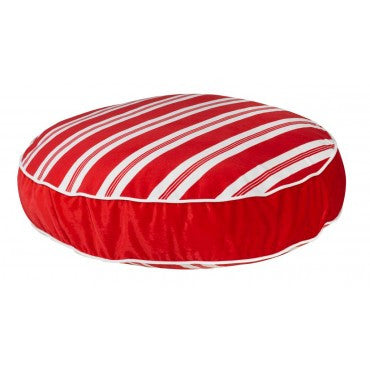 Bowsers Holiday Super Soft Round - Peppermint Stripe  Microvelvet