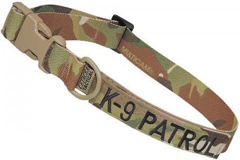 Tactical Adjustable Collar - K9 Patrol
