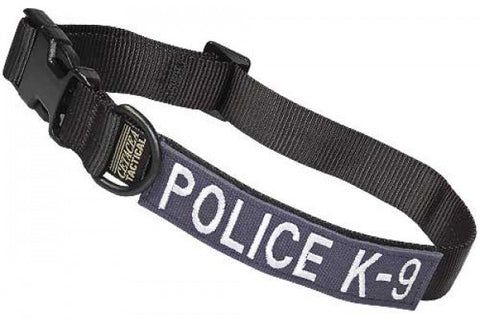 Tactical Adjustable Collar - Police K-9