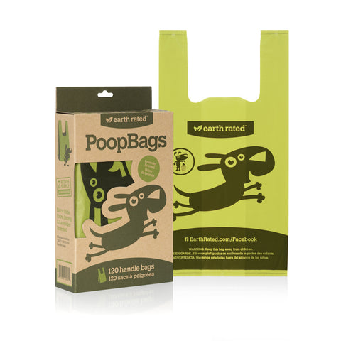 Earth Rated<sup>®</sup> Dog Waste Bags With Handles - Lavender Scented