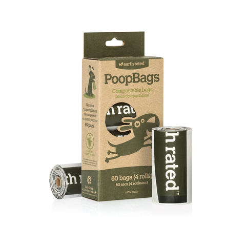 Earth Rated<sup>®</sup> Dog Waste Bags - Compostable & Unscented