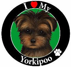 Yorkipoo Decal Magnet