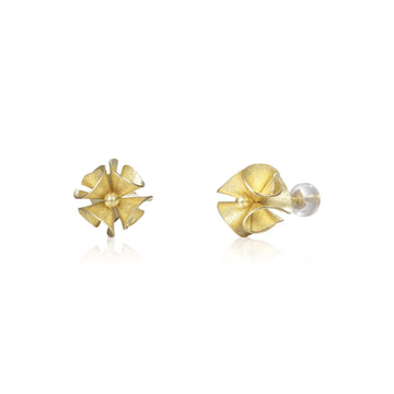 Spring Bloom Gold Earrings