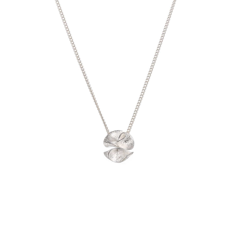 Spring Bloom Silver Necklace