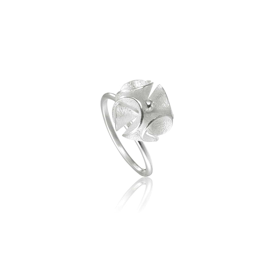 Spring Bloom Silver Ring