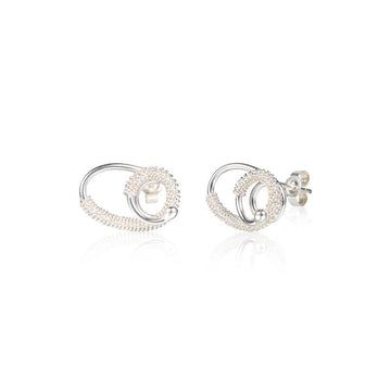 Loop Silver Earrings