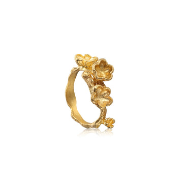 Winter Sonnet Gold Ring